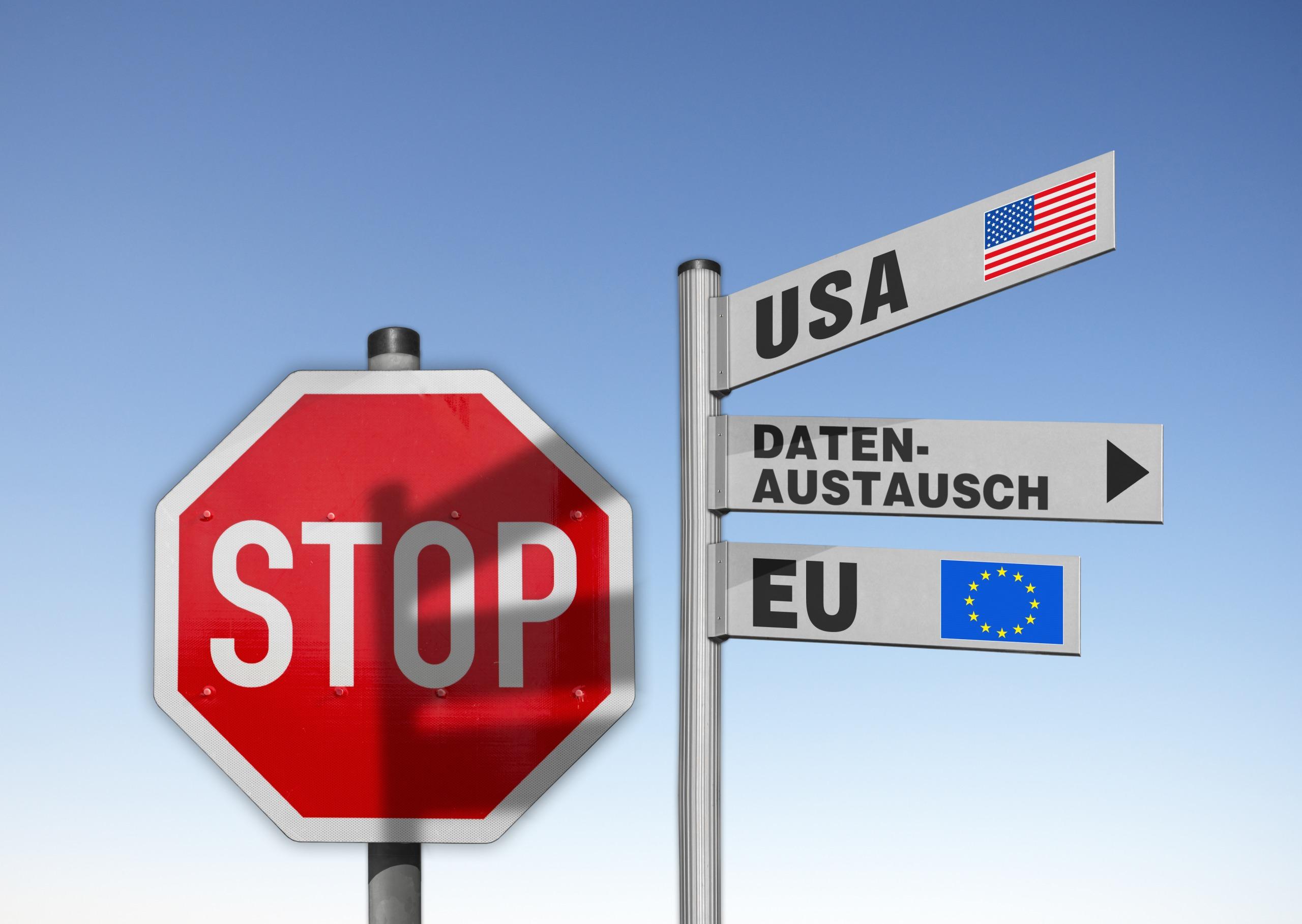 Datentransfer In Die USA